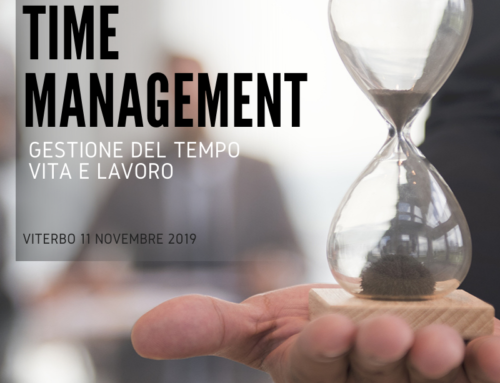 TIME MANAGEMENT – Gestione del Tempo